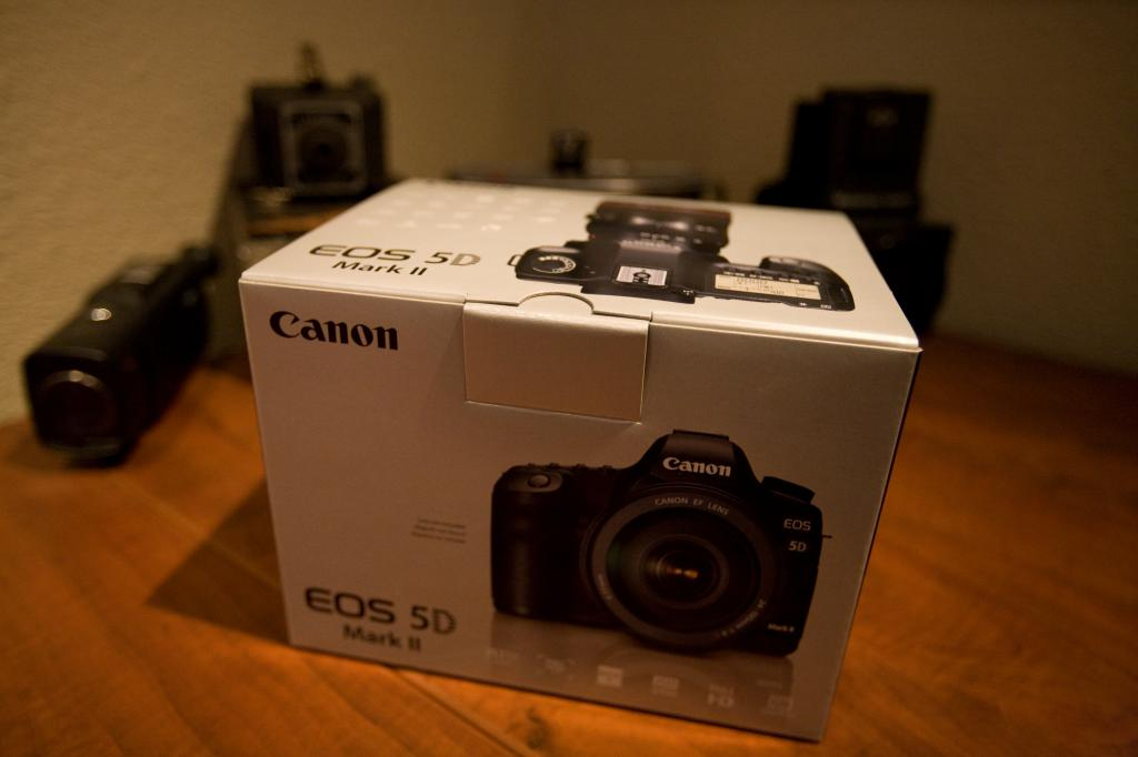 Brand New 5D MK II In Box