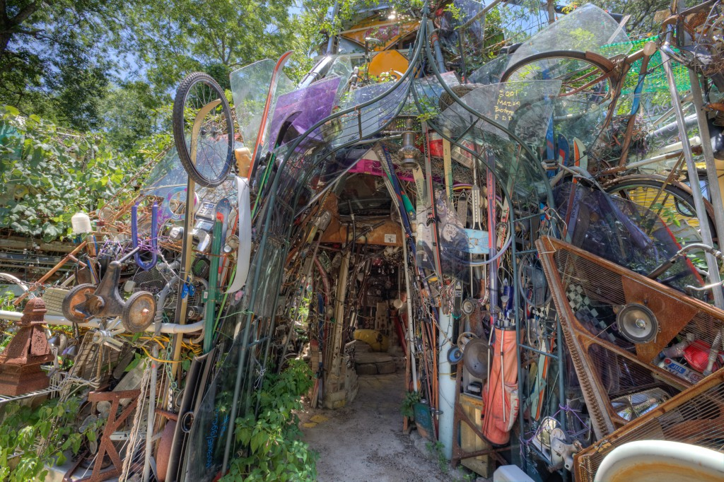 Cathedral of Junk Doorway