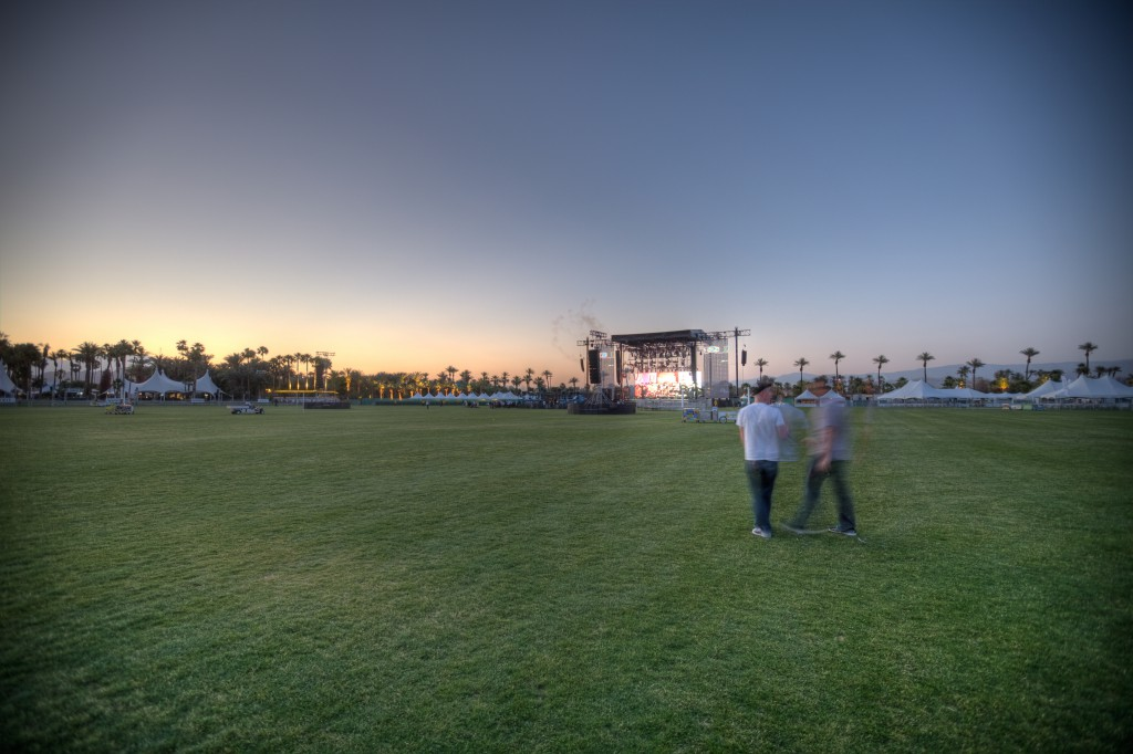 Coachella Stage on Thursday