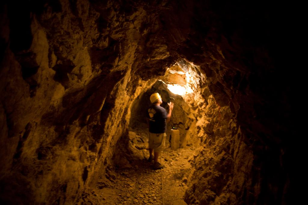Jim Proffitt In a Mine
