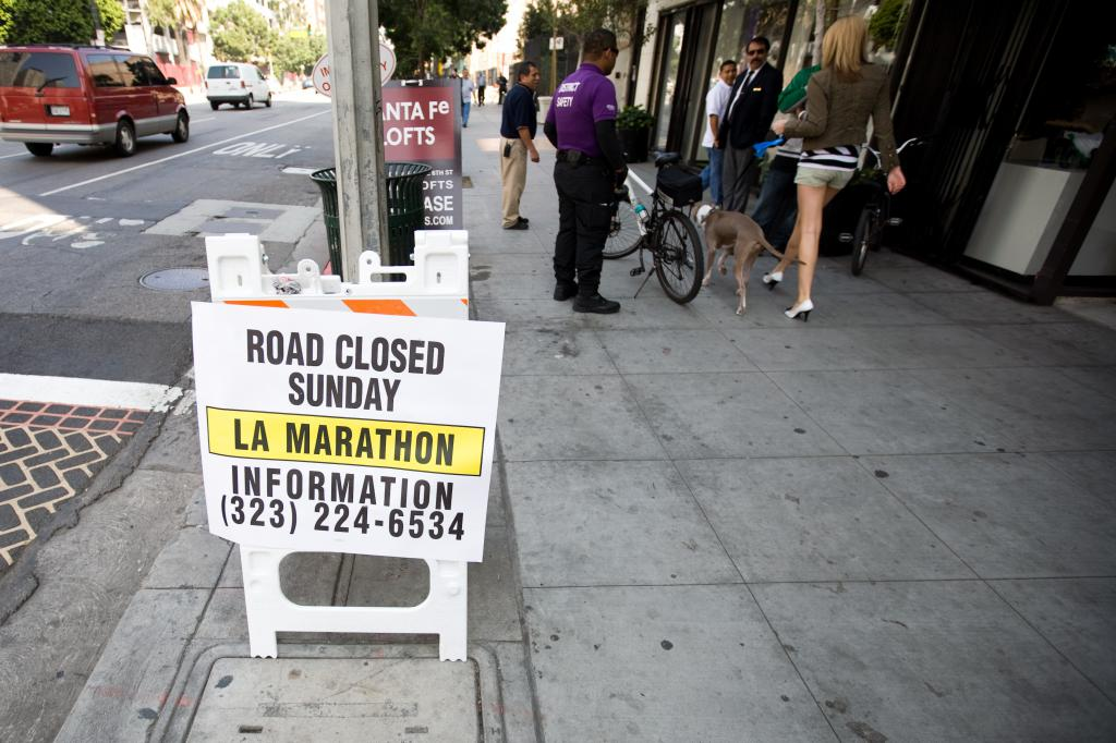 Road Closed : Marathon