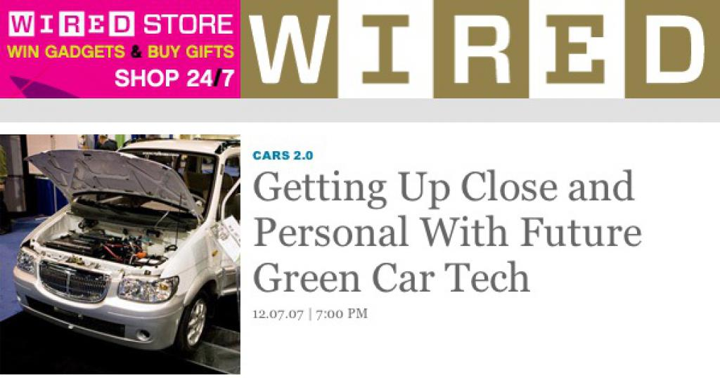 EVS23 on WIRED News